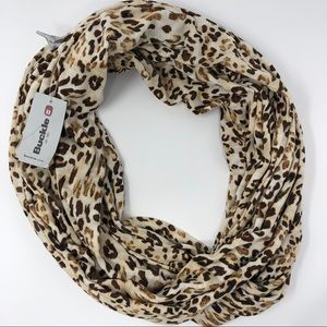 NWT BKE Leopard Print Infinity Scarf